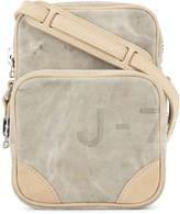 Readymade zipped crossbody bag