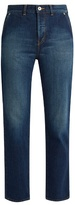 Muveil Bow-pockets straight-leg cropped jeans