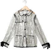 Milly Minis Girls' Polka Dot Raincoat w/ Tags