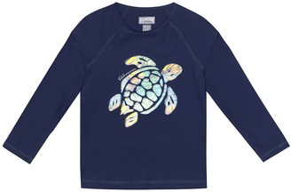 Vilebrequin Kids Glassy printed stretch rashguard