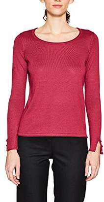 Esprit Women's 127ee1i026 Jumper, (Dark Pink 650), Small