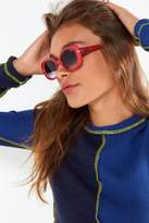 Quay Lulu Oval Sunglasses