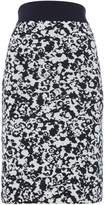 HUGO BOSS Printed jersey pencil skirt