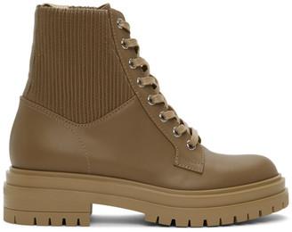 Gianvito Rossi Brown Martis 20 Boots