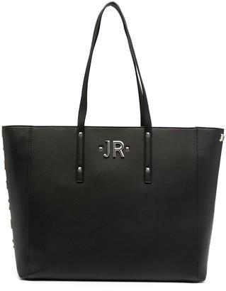 John Richmond Logo-Embossed Tote Bag