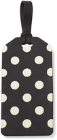 Kate Spade Luggage Tag - Black and Cream