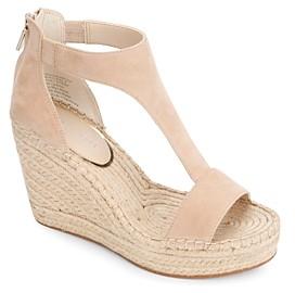 Kenneth Cole Women's Olivia T-Strap Espadrille Sandals