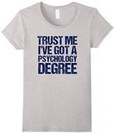 Men's Funny Psychology Graduate T-Shirt Medium