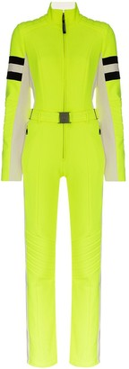 Bogner Belted Striped Ski Suit