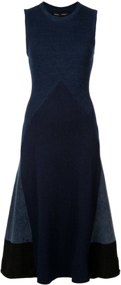 Proenza Schouler Pieced Rib Knit Dress