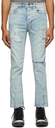 Ksubi Blue Chitch Chop Slice N Dice Jeans