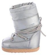 Bogner Girls' Metallic Snow Boots