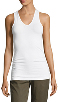 James Perse Skinny Ruched Tank Top
