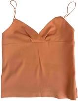 Loewe Orange Silk Top for Women