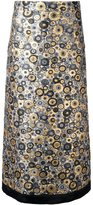 Ungaro circle embroidered maxi skirt