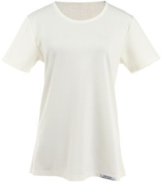 Anthony Vaccarello White Cotton Tops