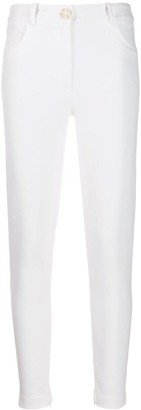 Elisabetta Franchi High-Rise Skinny Trousers