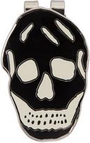Alexander McQueen Black & White Skull Money Clip