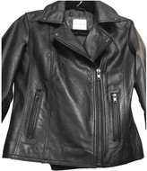 Each X Other Each X Black Leather Leather Jacket for Women
