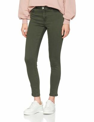 Vero Moda Women's Vmseven Shape Mr S ANK Zip Jeans Noos Slim