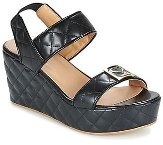 Love Moschino JA16107E13 women's Sandals in Black