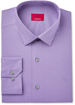 Alfani Men's Slim-Fit Stretch Purple Pindot Dress Shirt, Only at Macy's