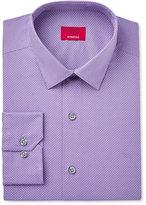 Alfani Men's Slim-Fit Stretch Purple Pindot Dress Shirt, Only at Macy's