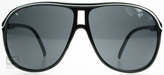 Sxuc Toby Sunglasses Black / White 637