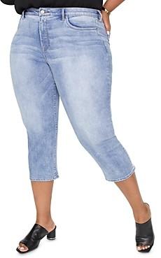 Nydj Plus Capri Jeans in Biscayne