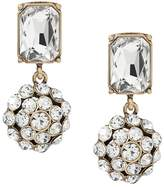Banana Republic Crystal Dome Linear Earring