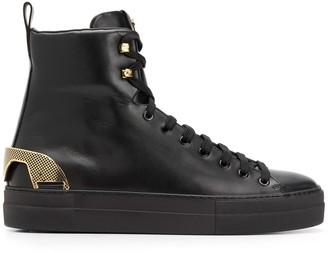 Cesare Paciotti lace-up ankle boots