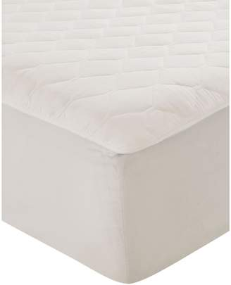 Simmons 250-Thread Count Cotton Heated Mattress Pad