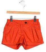 Bonpoint Girls' Pleated Shorts