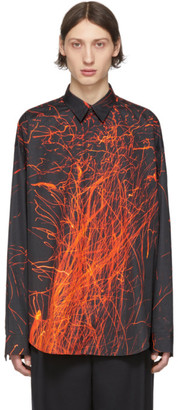 John Lawrence Sullivan Johnlawrencesullivan Black Sparks Long Sleeve Shirt