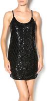 Fate Black Sequin Dress
