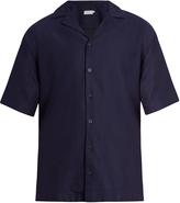 Sunspel Short-sleeved cotton shirt