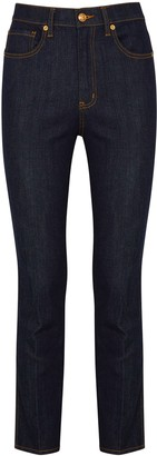 Tory Burch Indigo slim-leg jeans