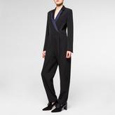 Paul Smith Women's Black Wool Tuxedo-Jumpsuit