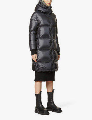 Pyrenex Tamara hooded shell-down coat