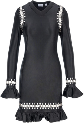 Burberry Ring-embellished Mini Dress