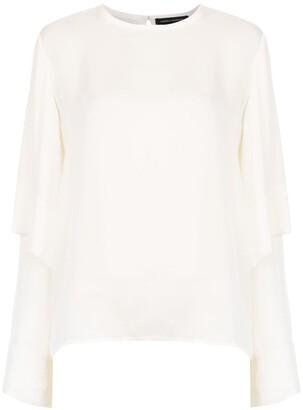 Andrea Marques ruffled blouse