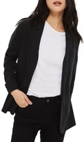 Topshop Women's Washed Boyfriend Blazer