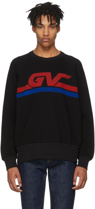Givenchy Black GV World Tour Sweatshirt