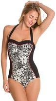 Kate Spade Saint Tropez Halter One Piece Swimsuit 8126536