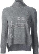 Christopher Kane hotfix high neck sweater