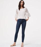 LOFT Modern Skinny Jeans in Dark Stonewash