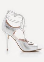 Bebe Laraa Metallic Sandals