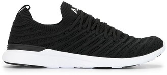APL Athletic Propulsion Labs Techloom Wave ribbed knit sneakers