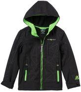 ZeroXposur Boy 4-7 Geometric Softshell Jacket