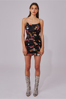 C/Meo Collective OBSESSIONS MINI DRESS black floral